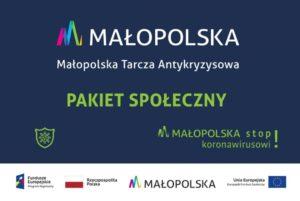 Małopolska Tarcza Antykryzysowa - banner